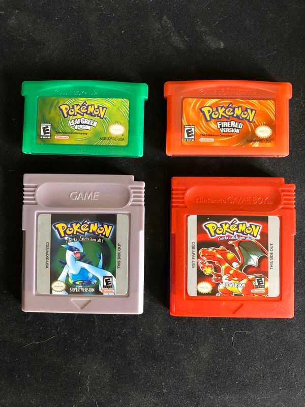 brand new reproduction pokemon games game boy color