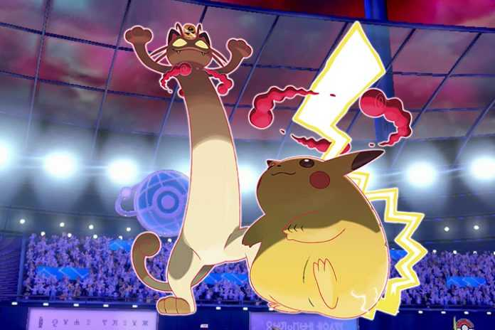 gigantamax meowth and pikachu were in that one pokemon