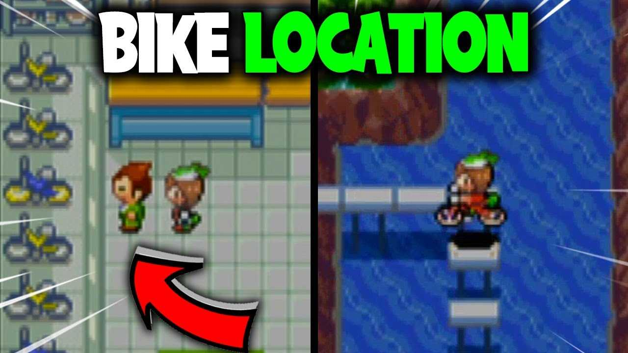 HOW TO GET A BIKE ON POKEMON EMERALD
