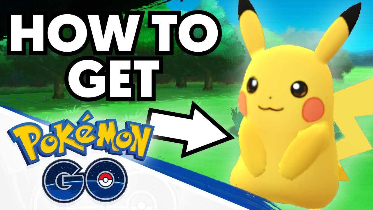 How to get Pikachu as your Starter in Pokemon GO ...