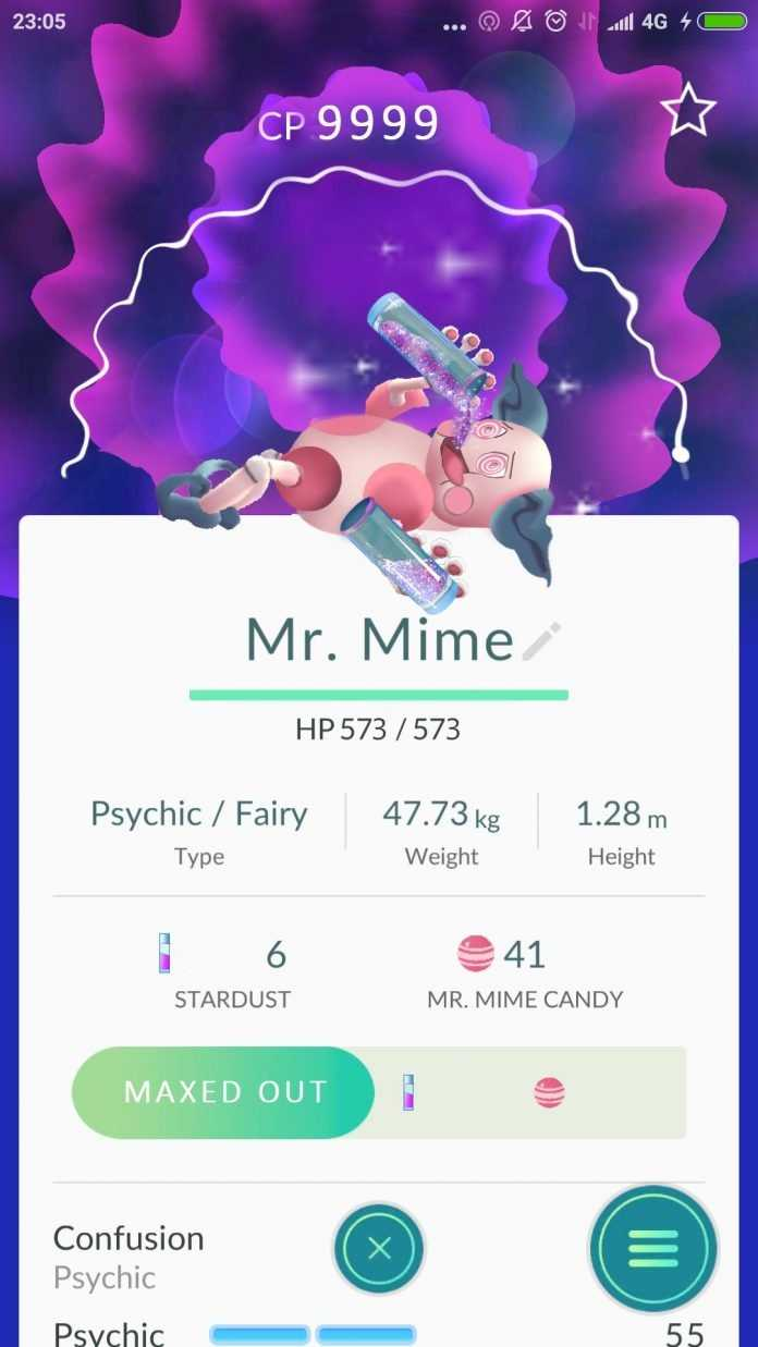 i left mr mime at a gym in soho for one night heres