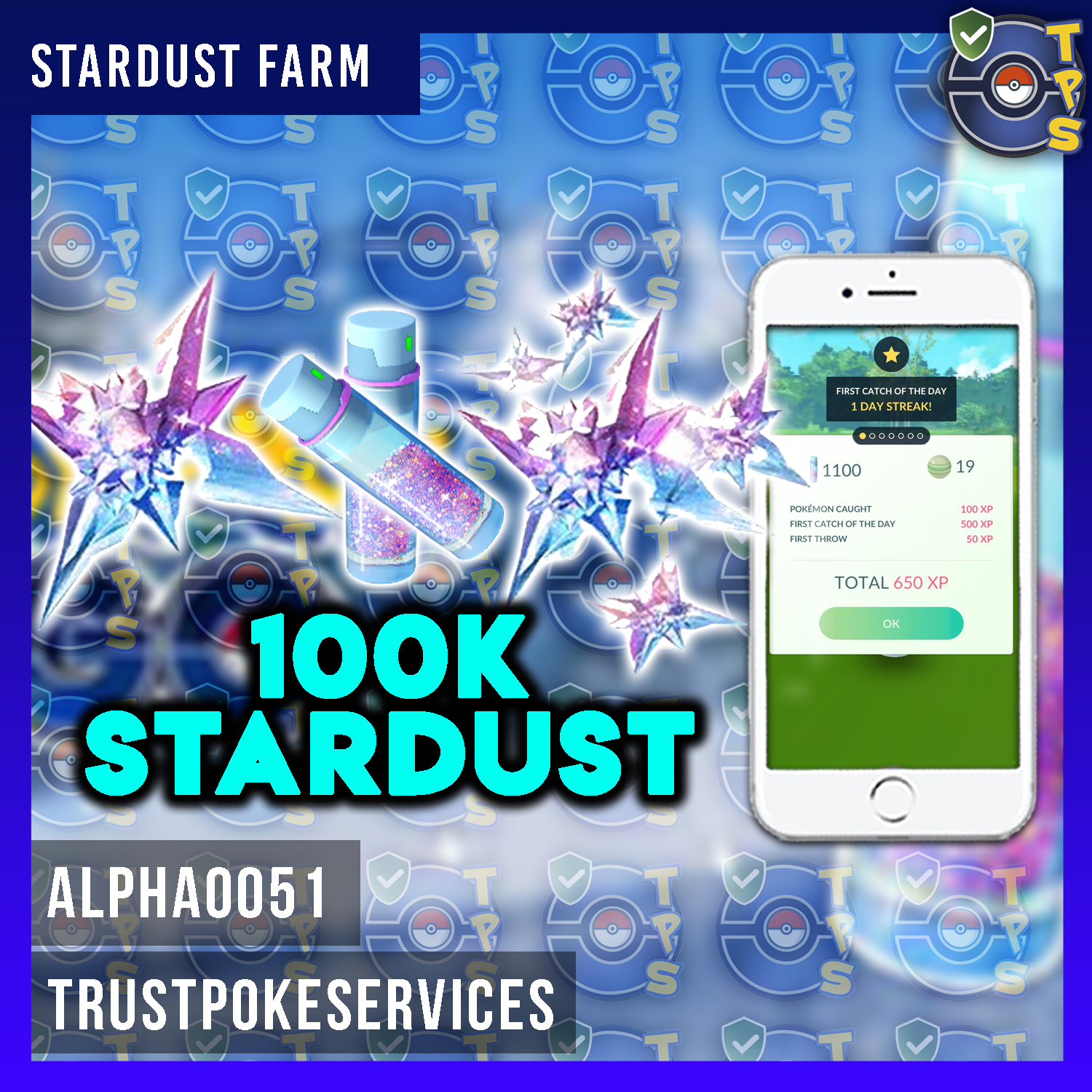 Pokemon Go 100,000 Stardust Farm 100% All Catches by Hand ...
