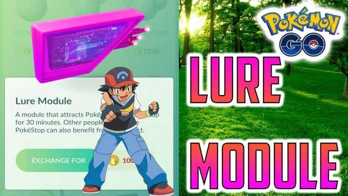 pokemon go gameplay lure module how to get more